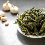 Garlic Kale Chips 1