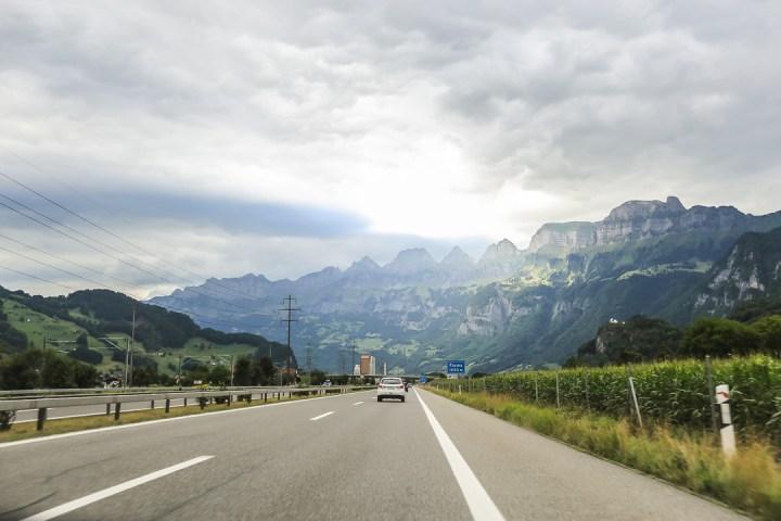 To Gothard Pass