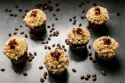 Chocolate Cupcakes with Coffee Buttercream 1