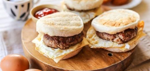 Copycat Sausage McMuffins 1