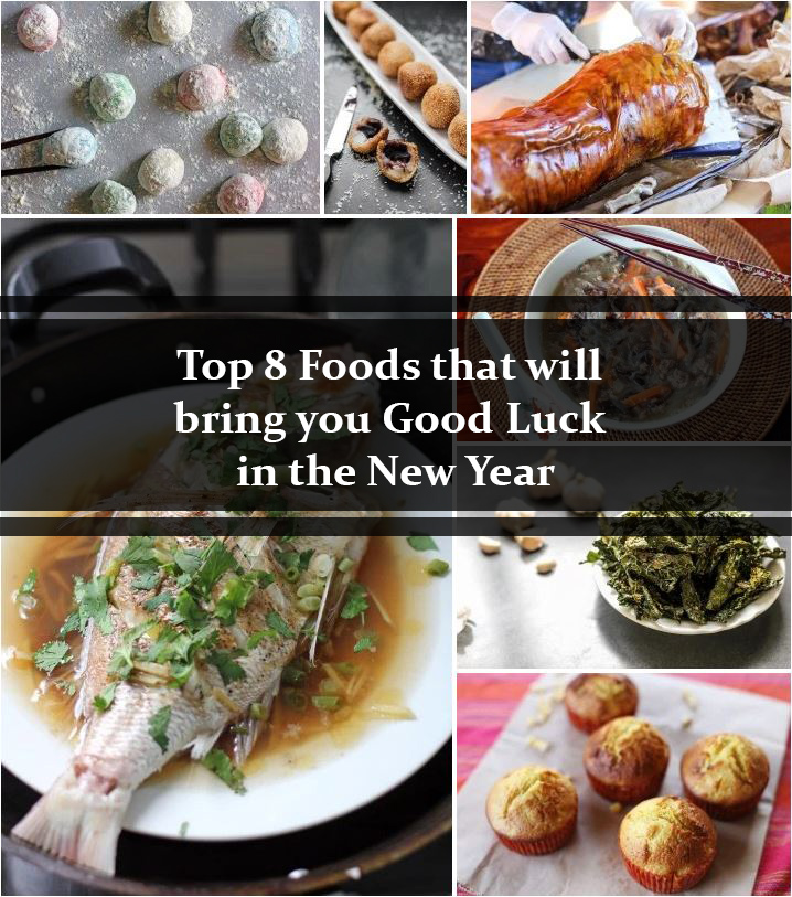 Top 8 Foods That Will Bring You Good Luck in the New Year