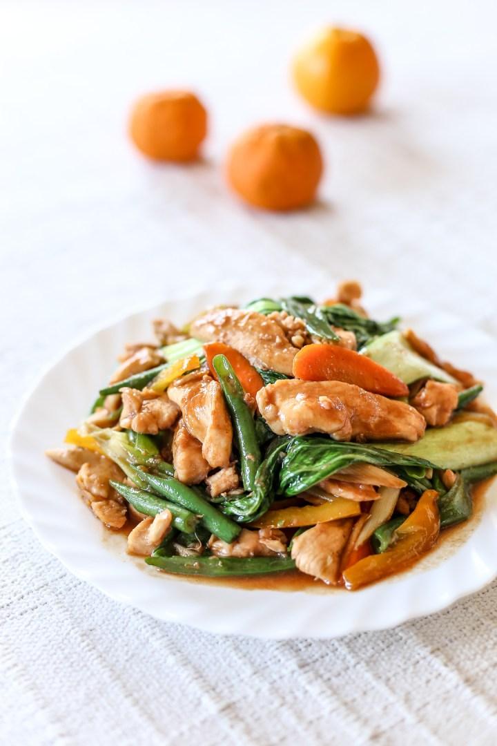 Hoisin Chicken Stir-fry