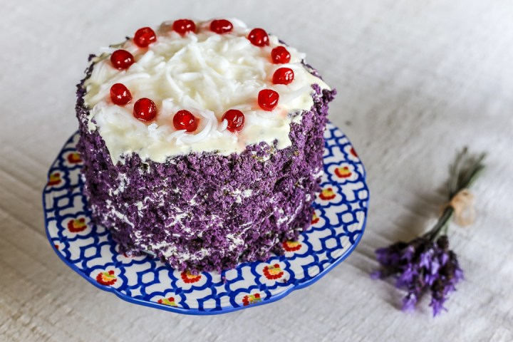 Purple Yam Sponge Cake Recipe