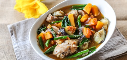 Cambodian Chicken and Vegetable Stew 1