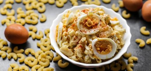 Devilled Egg Macaroni Salad 1
