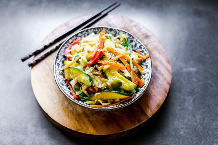 Vegetable Teppanyaki Wide