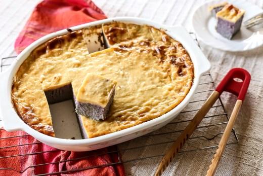 Ube Cassava Cake 1