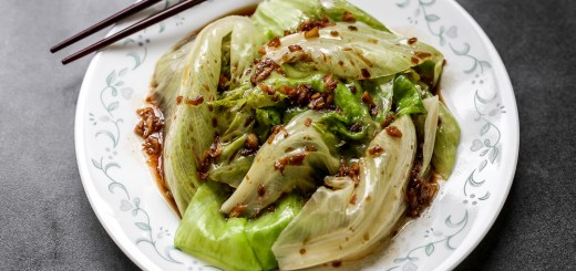 Lettuce Garlic Oil 1