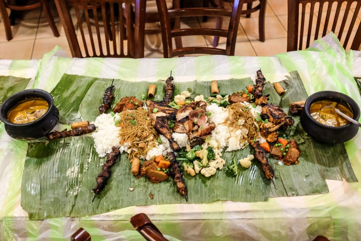 Boodle Fight Experience at Boracay Garden 3