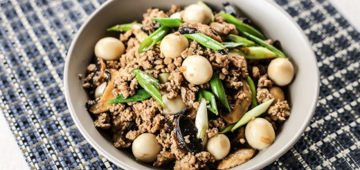 Asadong Pork Giniling with Quail Egg and Mushroom 1