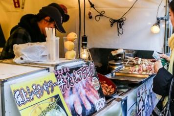 Meiji Jingu Open Air Food Court 10
