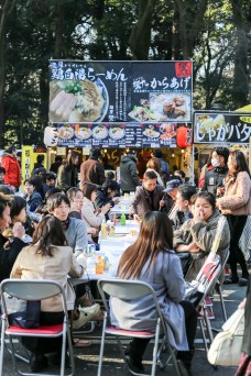 Meiji Jingu Open Air Food Court 47