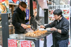 Tsukiji Fish Market Street Food 03