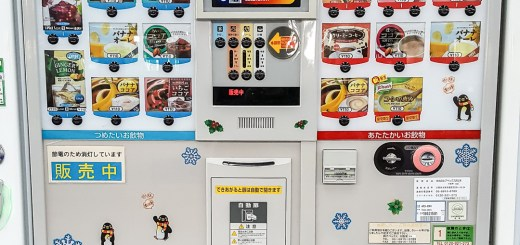 Vendo Machine Food in Japan 2