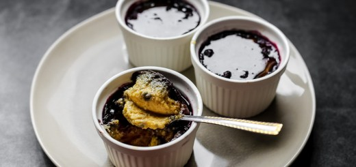 Blueberry Creme Brulee 1