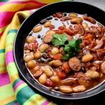 Chorizo, Beans and Tomato Soup 1
