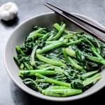 Stir-Fried Choy Sum With Minced Garlic 1