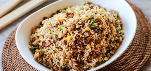 Chorizo Fried Rice 1