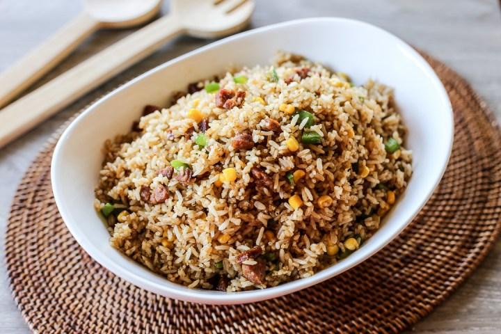 Chorizo Fried Rice 1