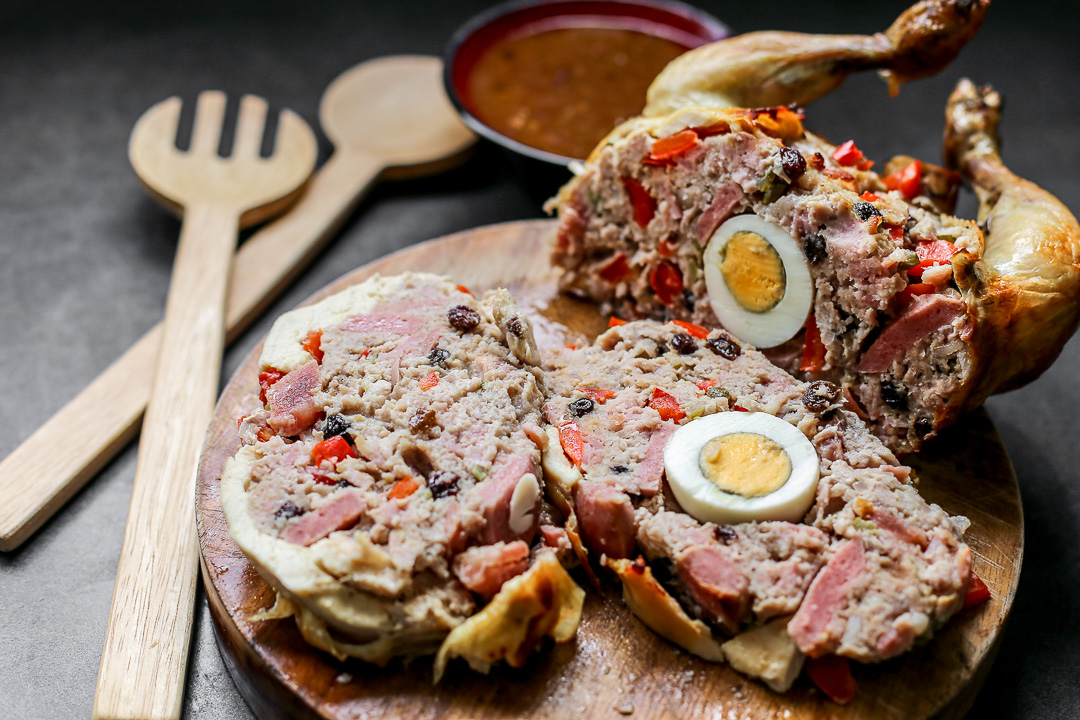Chicken Galantina  Ang Sarap
