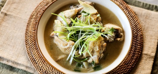Taiwanese Sesame Oil Chicken Soup 1