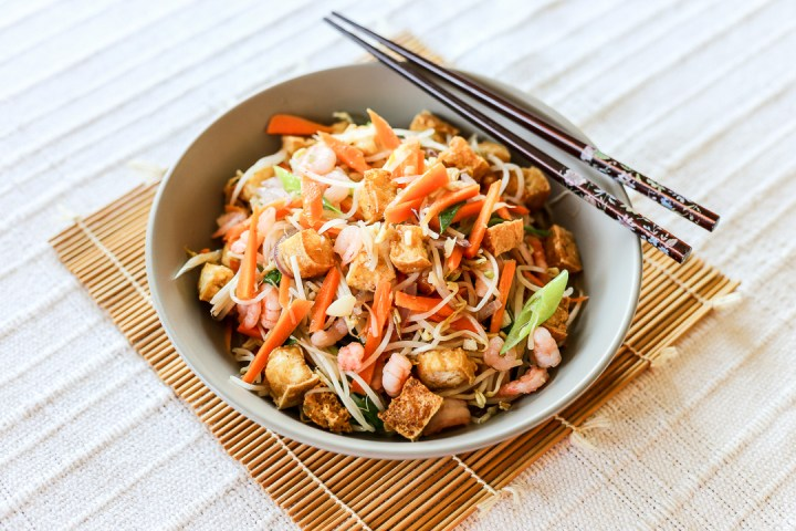 Stir Fried Bean Sprouts and Tofu (Guisadong Togue) 2
