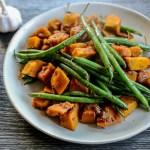 Butternut Squash and Green Bean Stir-Fry 1