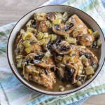 Chicken, Leeks and Mushroom Casserole 1