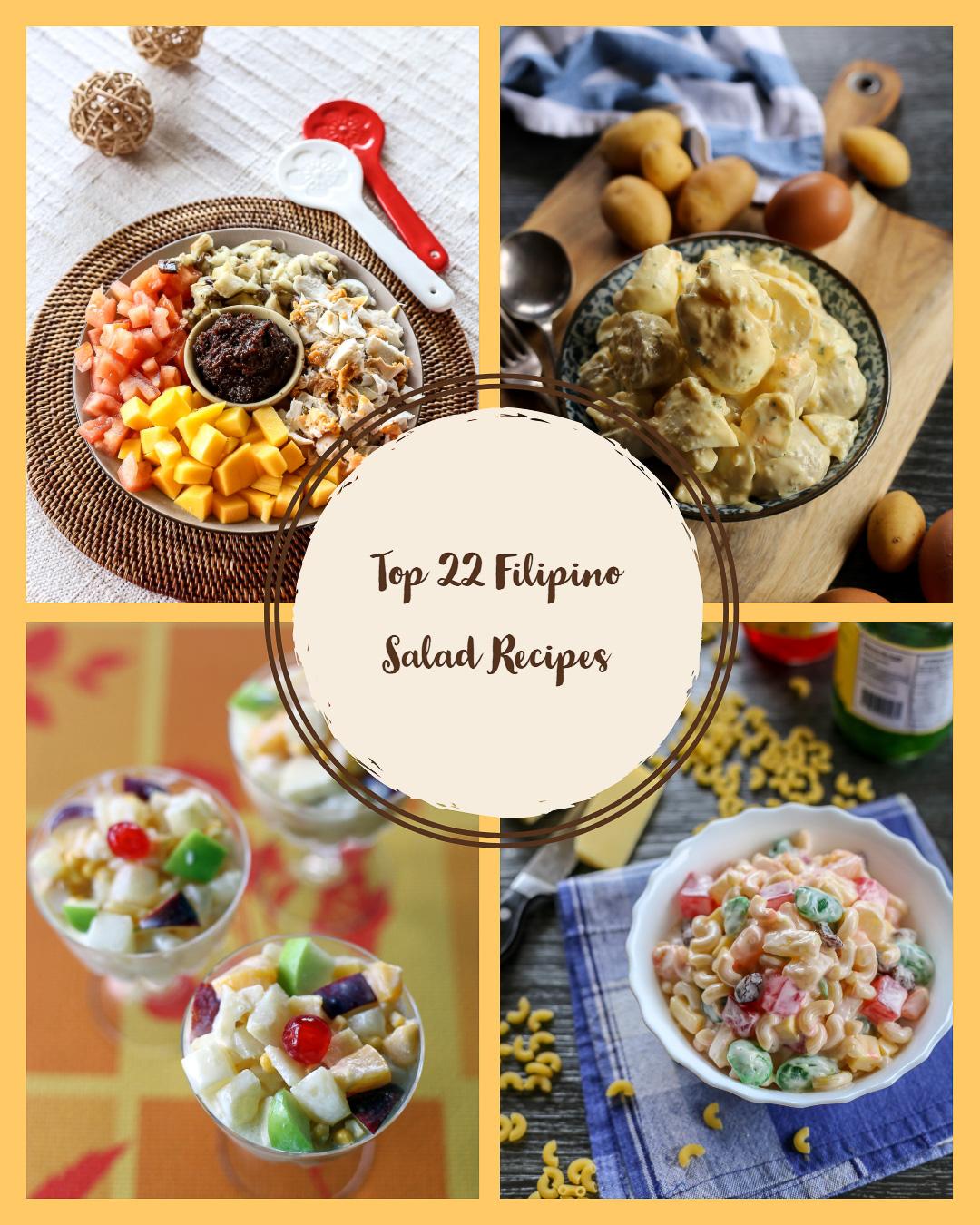 Top 22 Filipino Salad Recipes Ang Sarap