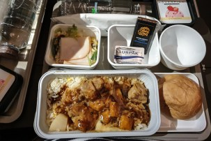 Airline Food Cathay Pacific 2019 11