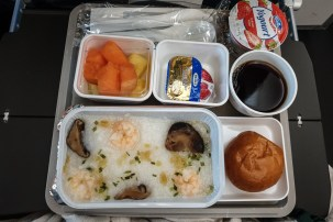 Airline Food Cathay Pacific 2019 18
