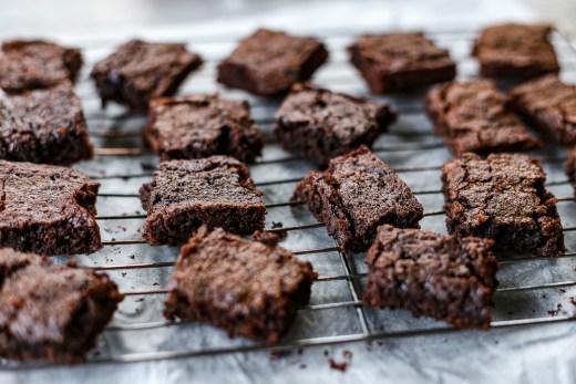 Chewy Chocolate Walnut Brownies 2