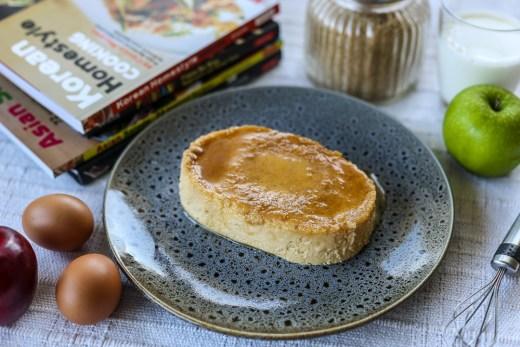 Flan de Manzanas 1