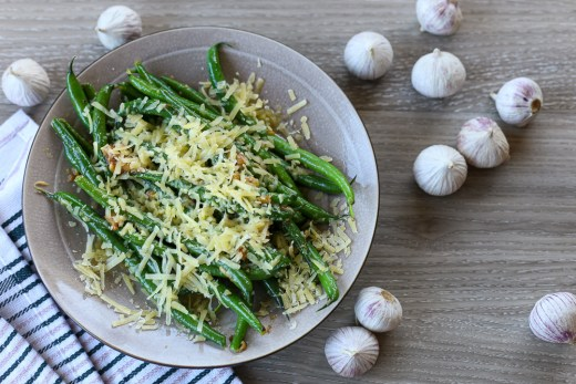 Garlic Parmesan Green Beans 1