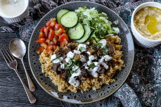 Pinoy Shawarma Rice 2