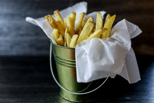 Home Made French Fries 1