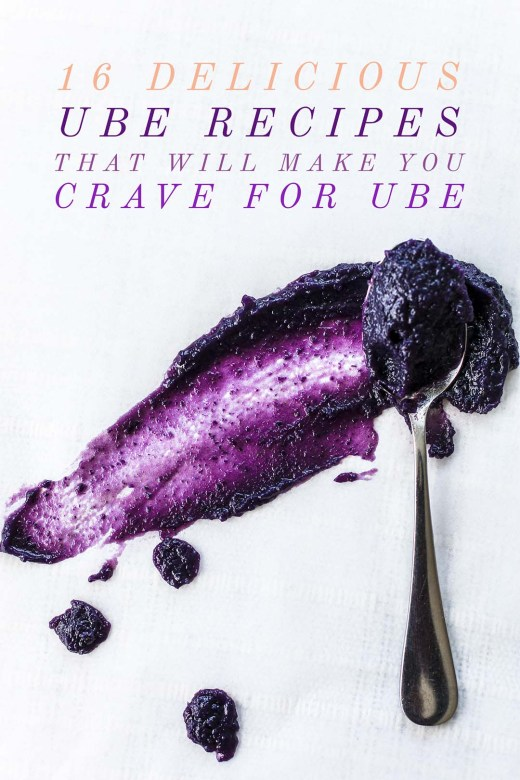 16 Delicious Ube Recipes that will make you crave for Ube