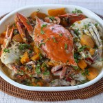 Ginataang Alimasag (Crab in Coconut Cream Sauce) 4