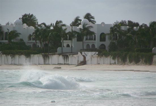 Extreme Anguilla Weather in October Hurricane Omar