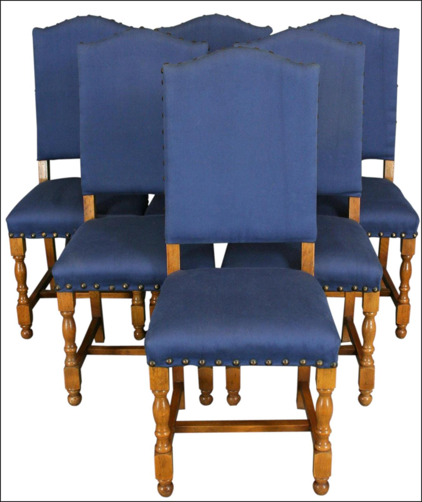 Blue Upholstered Dining Room Chairs  Chairs  Home Design