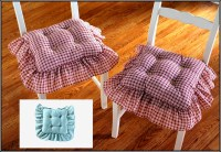 Kitchen Chair Cushions With Ruffles Download Page  Home ...