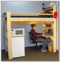Loft Beds With Desk Underneath - Desk : Home Design Ideas ...