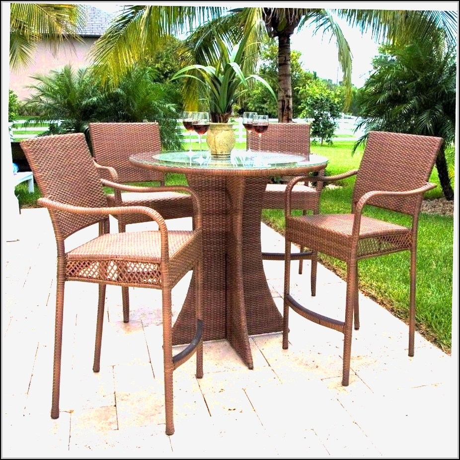 Patio Dining Sets Bar Height  Patios  Home Design Ideas