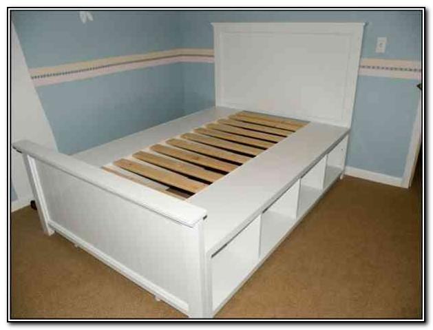 Diy Bed Frame With Storage Beds Home Design Ideas