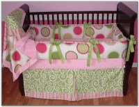 Baby Girl Crib Bedding Sets Pink And Green Download Page