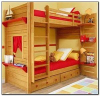 Boys Bunk Bed With Desk - Desk : Home Design Ideas # ...