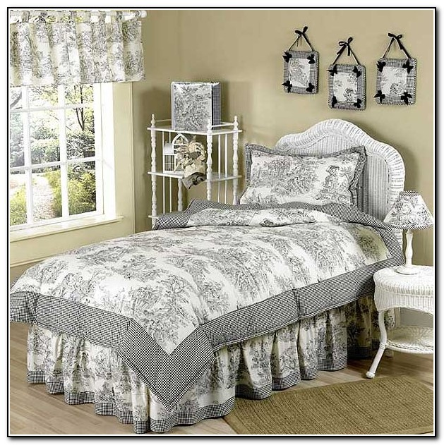 Red French Country Bedding  Beds  Home Design Ideas