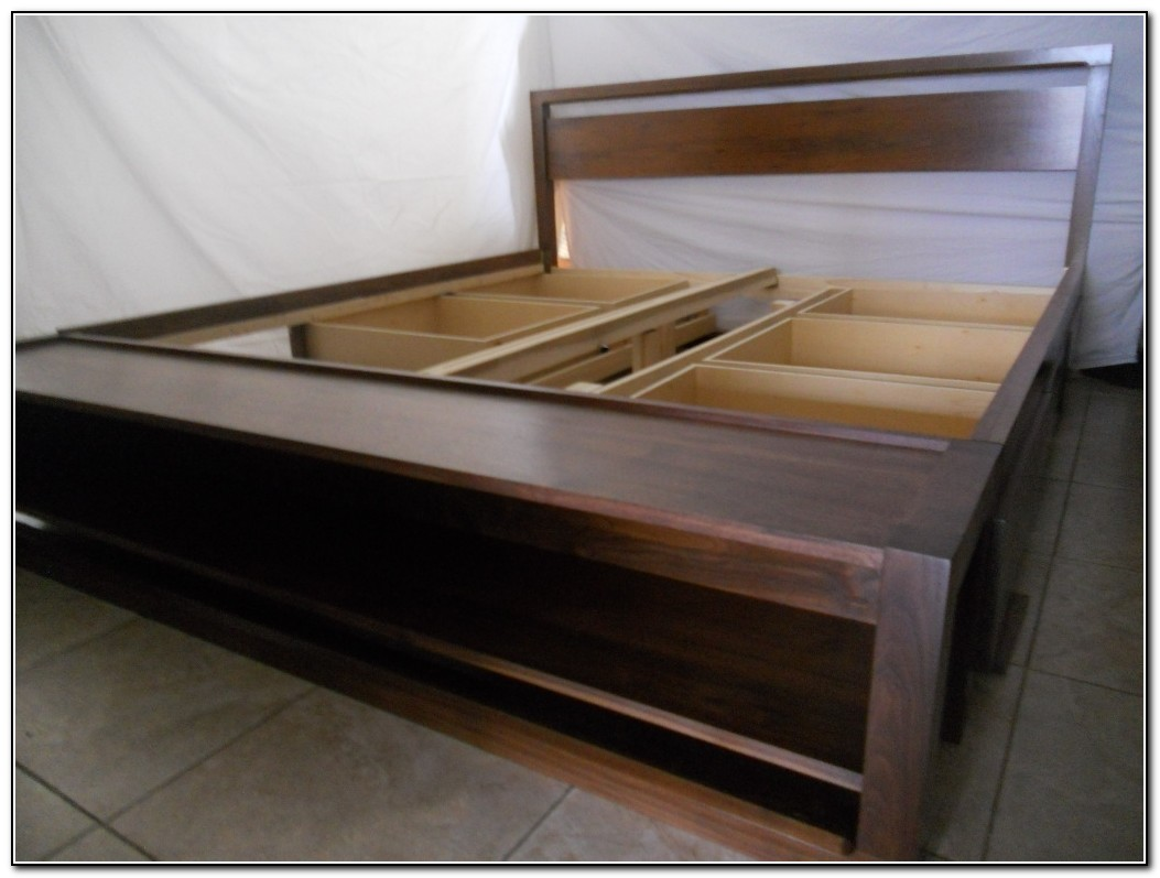 King Size Bed Frames With Storage Download Page Home