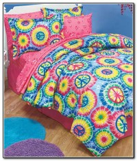 Peace Sign Bedding Queen Size