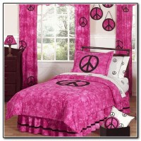 Peace Sign Bedding Target
